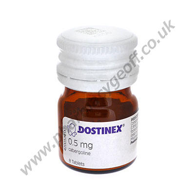 I'm taking dostinex (cabergoline) so what is my percentage of become pregnant?