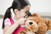 My daughter has a hard lump behind one ear that hurts when pressed or when she leans on that ear. What could it be? Otherwise fine - no other symptoms