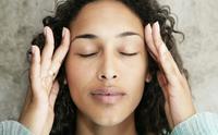 I am experiencing  headache (better by: rest) (worsened by: routine activity) (severity: moderate) (occurred: > 3 hrs) (quality: sensation of press...