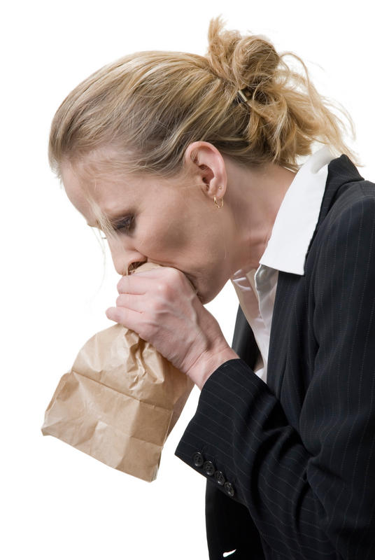 Old wives tale about breathing into a paper bag when you're hyperventilating?
