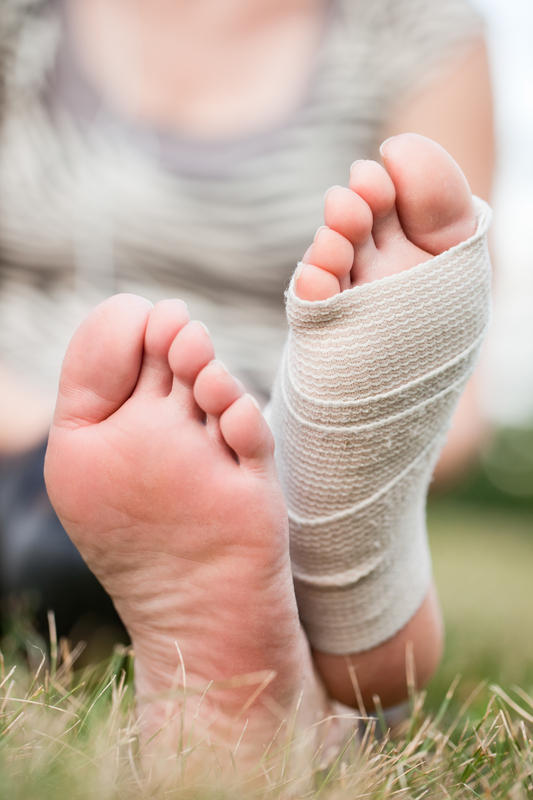 I have a bunion on my foot, how can I get rid of it ?