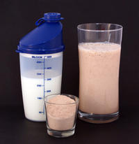 When I don't fullfill my daily protein intake, can I drink my gold standard whey to help reach the intake?