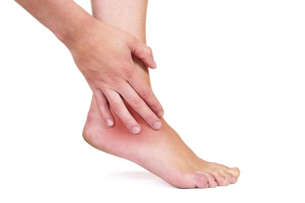 How can I get relief from  ankle pain?