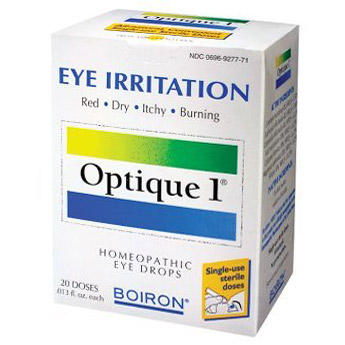 Should I trust this remedy?  It says homeopathic eye drops, but the ingredients look like medications!