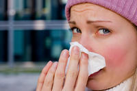 How long are people usually contagious with the flu or a cold (before and after symptoms appear)?