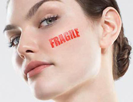 Home remedies for really dry fragile skin?