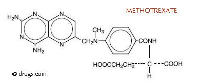 How long does methotrexate stay in your body for?