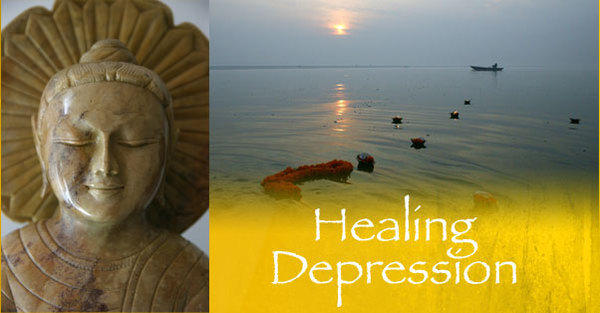 What happenings in a person's life have the power to take him out of his depressive illness?