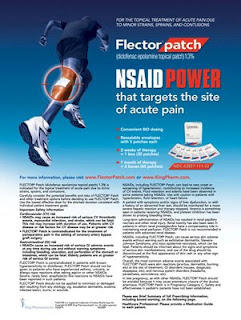 Is the  flector patch (diclofenac) good for arthrites?