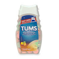 What is the treatment for Tums (calcium carbonate) overdose?