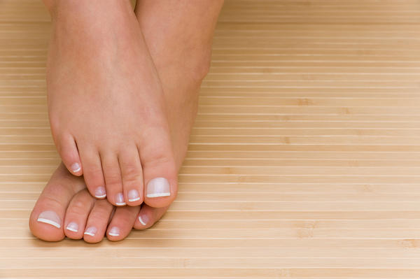How to get rid of dead white skin between toes ?