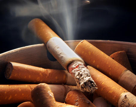 How do you detox your lungs from exposure to cigarette smoke?