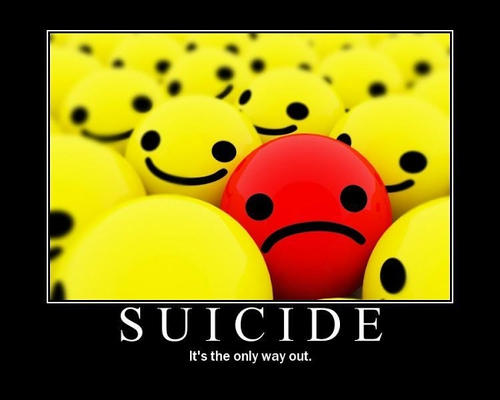 What should I do if my friend said they wanted to commit suicide?