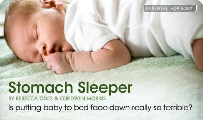 What is a stomach sleeper?