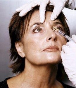 Can botox or juviderm injections under and above eyes make your eye twitch and spasem?
