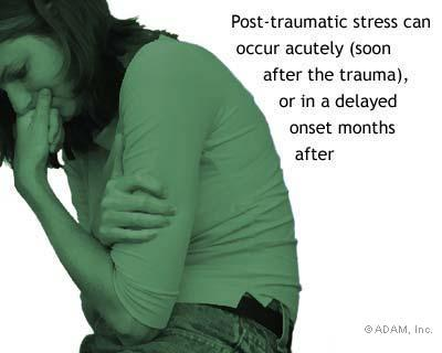 How can I help my girlfriend who may have ptsd?  She has to overcome her demons?