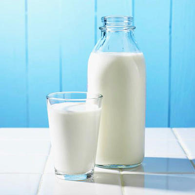 Can drinking milk when you have lactose intolerance cause any damage other than gas and diarrhea?