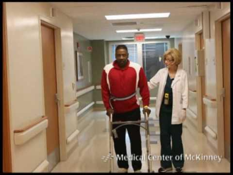 After hip replacement do you have to learn to walk all over again?