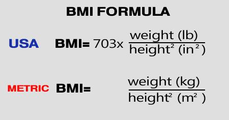 How do you calculate to obtain an accurate BMI value?