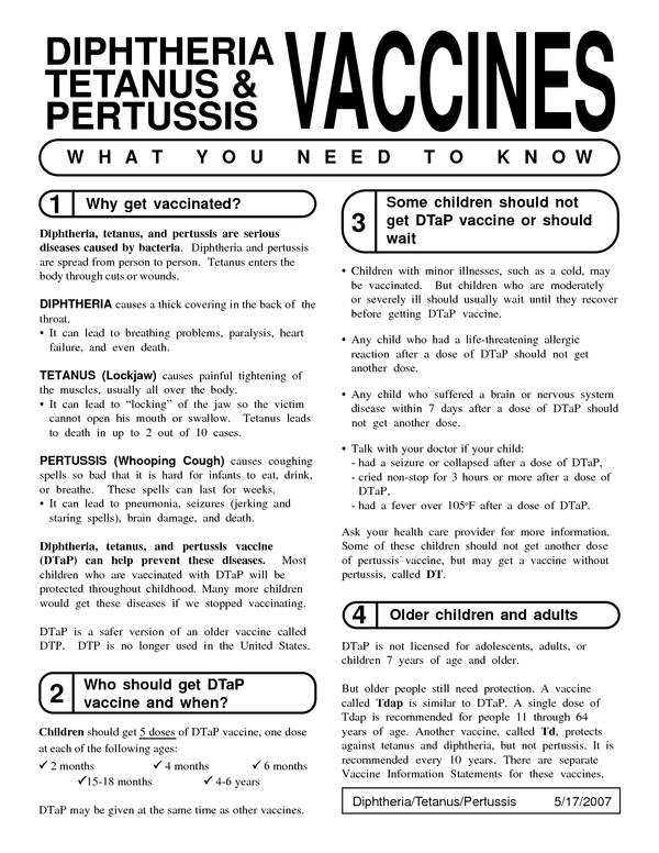 Adult Pertussis Vaccine 74
