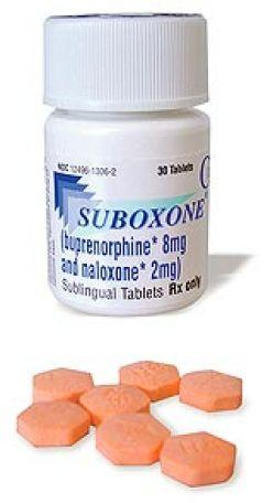 What helps with opiate withdrawal symptoms stay under control?