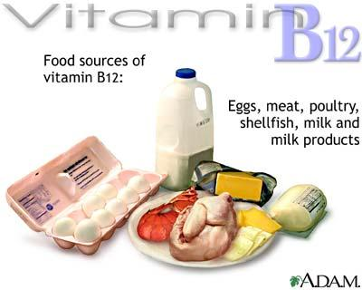 What are the effects of vitamin B6 and b12?