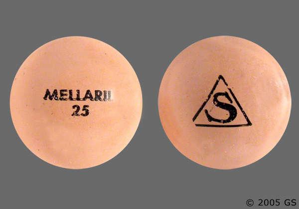 Thioridazine Mellaril Side Effects