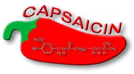 What is capsaicin and where can you get it?