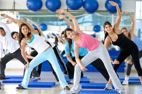 How do I motivate myself to go to my exercise classes each day?
