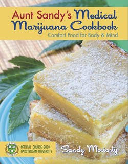 How high do you get eating things baked with marijuana?