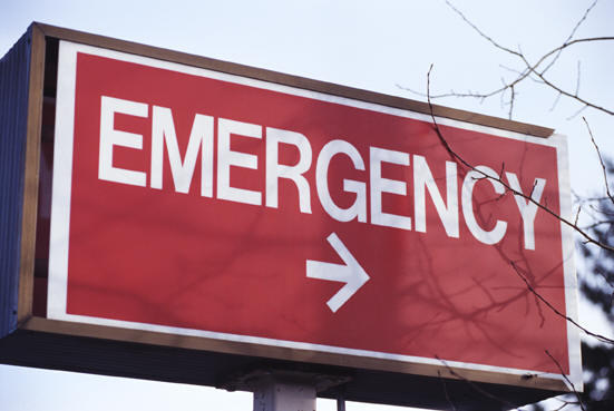 What's an emergency room ER observation unit?