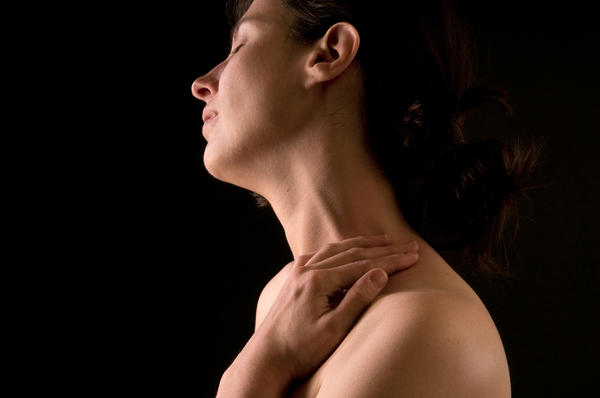 What kind of doctor can I see for a small painful lump on my neck?