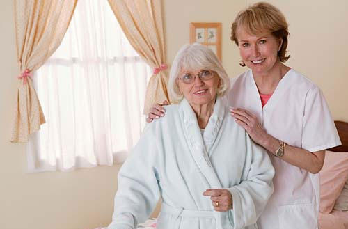 Do dementia patients know you are visiting them?