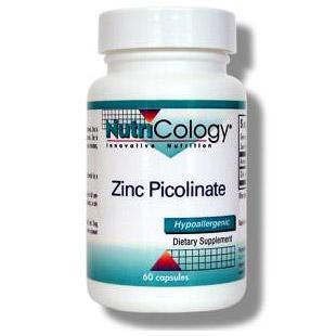 How much elemental zinc in zinc picolinate