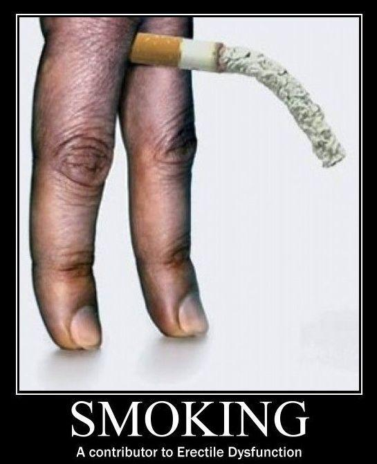 Is it true that smoking and drinking have effect on your erection power?