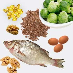 What are some foods that contain omega 3 fatty acids?