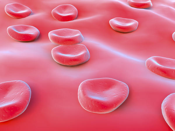 What are considered high titres of rnp in the blood?