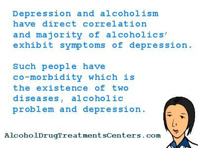 What happens if am an alcoholic and depressed, can I take my depression meds?