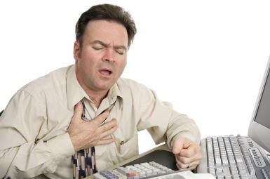 Different heart symptoms with anxiety?