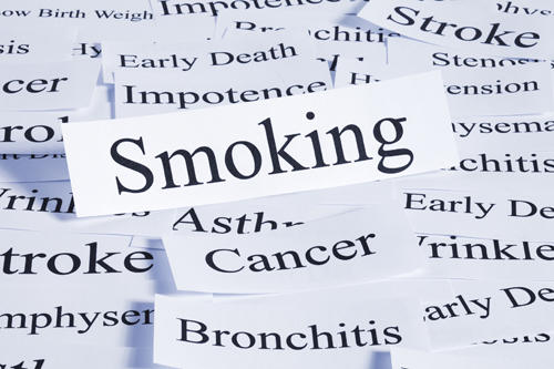 How many people die from emphysema, arteriosclerosis, or stroke due to smoking?