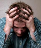 Nervous breakdown: does one feel when it happens?