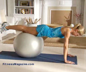 How fast will you lose weight using something like the gym ball weight loss workout?