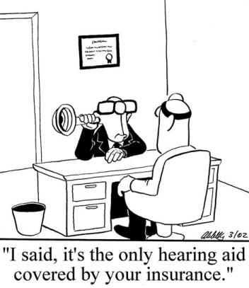 What can you do if your hearing becomes distorted?