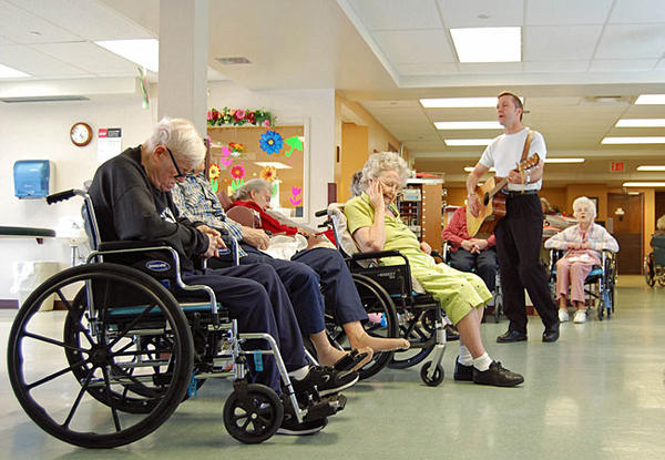 Why do nursing homes restrict who they can admit based on age of a potential patient?