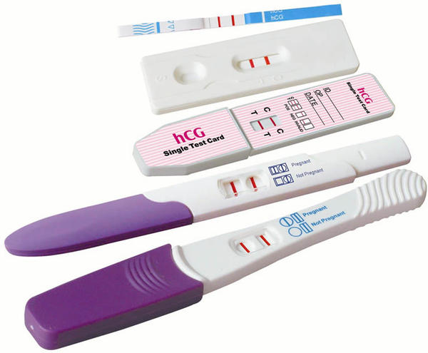 Could I be preg? Preg sympt, pcos, on metformin, but -hpt. I have cousin w/ 3 pregnancies and never had +urine test.Told hCG didn't spill to her urine