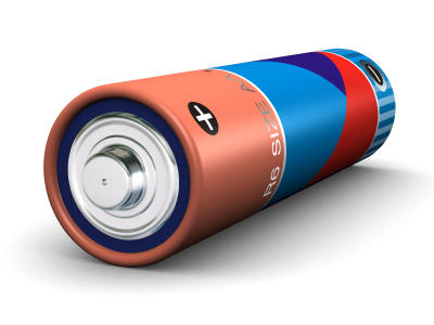 What can leak out of common aa batteries, and is it dangerous?
