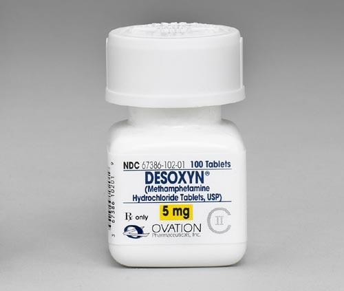 Is the ADHD medication desoxyn (methamphetamine) effective?