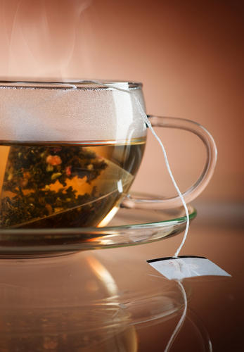 Why does tea contain tannins?