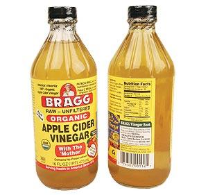Will apple cider vinegar cure seborrhea?