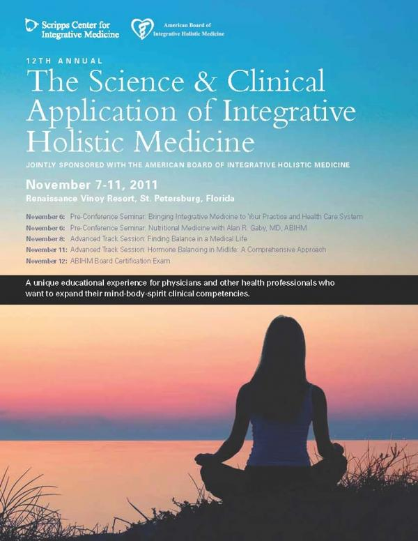 How does holistic treatment meet someones needs more than traditional medicine?